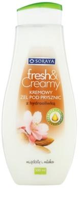 Soraya Fresh & Creamy gel cremos pentru dus cu efect de nutritiv