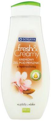 Soraya Fresh & Creamy krémový sprchový gél s vyživujúcim účinkom