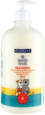 Soraya Family Fresh душ гел и шампоан 2 в 1 за деца
