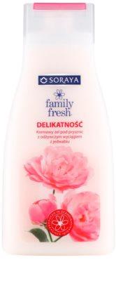 Soraya Family Fresh krémový sprchový gel s výtažkem z hedvábí