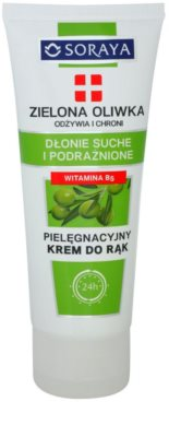 Soraya Green Olive nährende und schützende Creme für die Hände