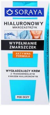 Soraya Hyaluronic Microinjection protivráskový krém na oční okolí s kyselinou hyaluronovou 2