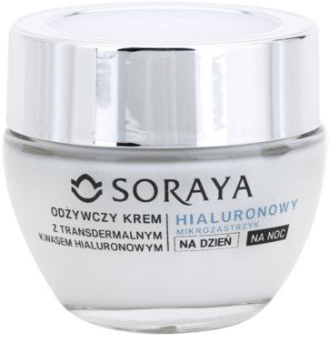 Soraya Hyaluronic Microinjection ingrijire nutritiva pentru regenerarea si reinnoirea pielii