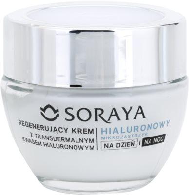 Soraya Hyaluronic Microinjection відновлюючий крем з гіалуроновою  кислотою