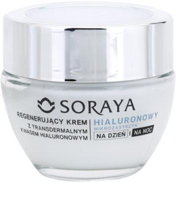 Soraya Hyaluronic Microinjection регенериращ крем с хиалуронова киселина