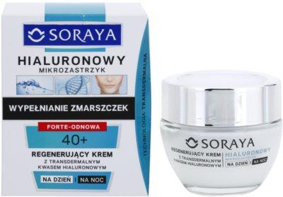 Soraya Hyaluronic Microinjection відновлюючий крем з гіалуроновою  кислотою 1
