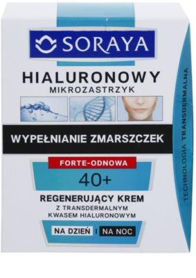 Soraya Hyaluronic Microinjection відновлюючий крем з гіалуроновою  кислотою 2