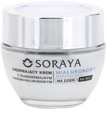Soraya Hyaluronic Microinjection lift crema de fata pentru fermitate cu acid hialuronic