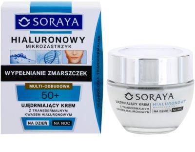Soraya Hyaluronic Microinjection lift crema de fata pentru fermitate cu acid hialuronic 1