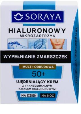 Soraya Hyaluronic Microinjection lift crema de fata pentru fermitate cu acid hialuronic 2
