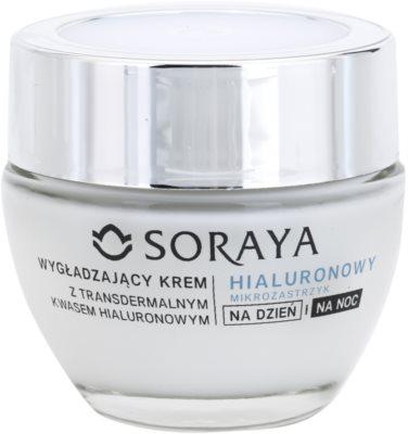 Soraya Hyaluronic Microinjection crema alisadora con ácido hialurónico