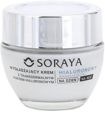 Soraya Hyaluronic Microinjection crema tonifianta cu acid hialuronic