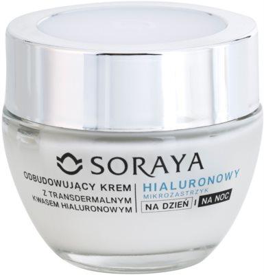Soraya Hyaluronic Microinjection crema anti-rid cu acid hialuronic