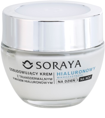 Soraya Hyaluronic Microinjection ránctalanító krém hialuronsavval