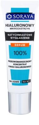 Soraya Hyaluronic Microinjection sérum suavizante com efeito instantâneo