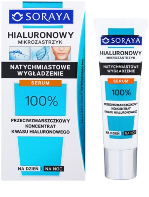 Soraya Hyaluronic Microinjection kisimító szérum azonnali hatással 1