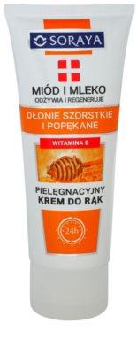Soraya Honey and Milk tápláló regeneráló krém kézre