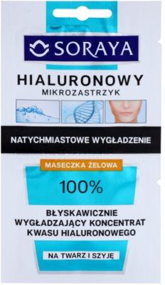 Soraya Hyaluronic Microinjection intenzív lifting maszk hialuronsavval