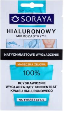 Soraya Hyaluronic Microinjection máscara intensiva com efeito lifting com ácido hialurônico com ácido hialurónico