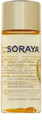 Soraya Ideal Beauty ulei de regenerare cu efect de netezire pentru piele normala si uscata