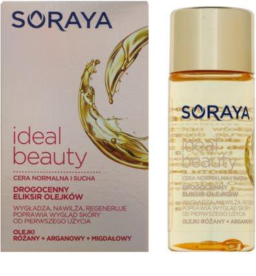Soraya Ideal Beauty aceite regenerador con efecto alisante para pieles normales y secas 1