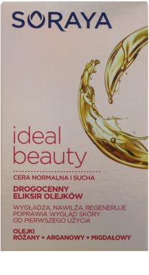Soraya Ideal Beauty aceite regenerador con efecto alisante para pieles normales y secas 2