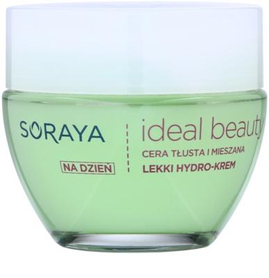 Soraya Ideal Beauty leichte feuchtigkeitsspendende Creme für fettige und Mischhaut