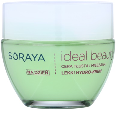 Soraya Ideal Beauty lekki krem nawilżający do skóry tłustej i mieszanej