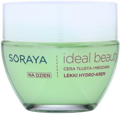 Soraya Ideal Beauty лек хидратиращ крем за смесена и мазна кожа