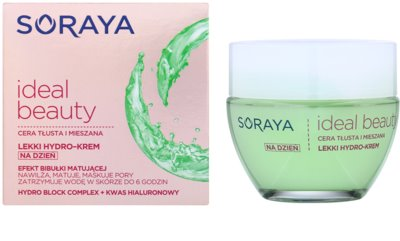 Soraya Ideal Beauty könnyű hidratáló krém kombinált és zsíros bőrre 1