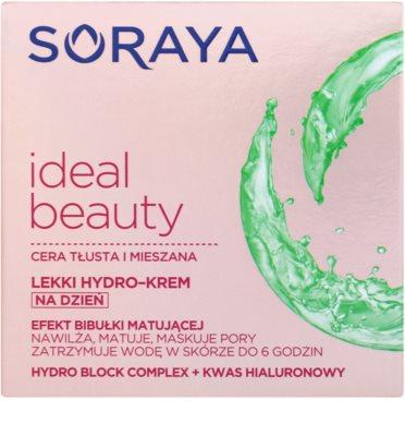 Soraya Ideal Beauty лек хидратиращ крем за смесена и мазна кожа 2