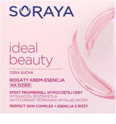 Soraya Ideal Beauty Crema bogata de zi  ten uscat 2