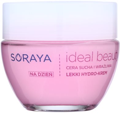 Soraya Ideal Beauty crema hidratanta usoara pentru piele uscata spre sensibila
