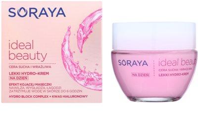Soraya Ideal Beauty könnyű hidratáló krém száraz és érzékeny bőrre 1