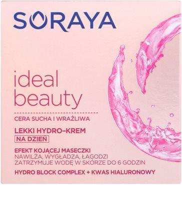 Soraya Ideal Beauty könnyű hidratáló krém száraz és érzékeny bőrre 2