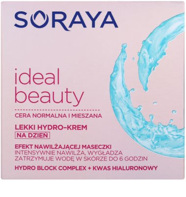 Soraya Ideal Beauty hidratante leve para pele normal a mista 2