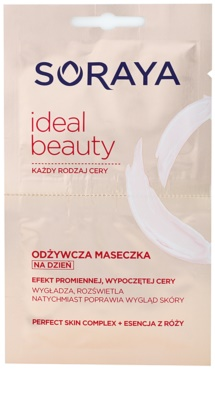 Soraya Ideal Beauty masca hranitoare pentru o piele radianta