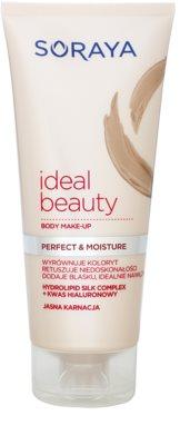 Soraya Ideal Beauty test make-up világos bőrre