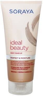Soraya Ideal Beauty maquillaje corporal para pieles medio morenas hasta oscuras