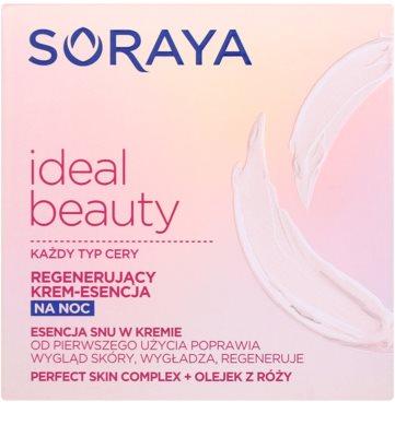 Soraya Ideal Beauty creme de noite regenerador  para todos os tipos de pele 2