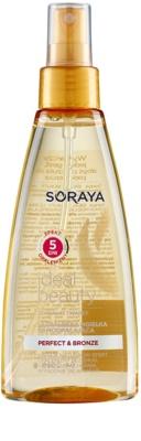 Soraya Ideal Beauty espuma bronzeadora para rosto e corpo