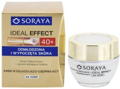 Soraya Ideal Effect fiatalító nappali krém a bőr feszességéért 1