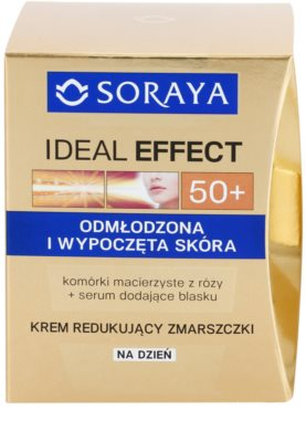 Soraya Ideal Effect nappali ránctalanító krém a bőr fiatalításáéer 2