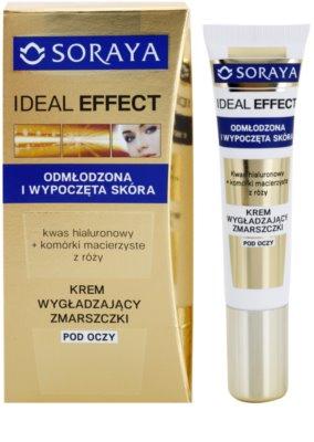 Soraya Ideal Effect glättende Anti-Falten Creme für die Augenpartien 1