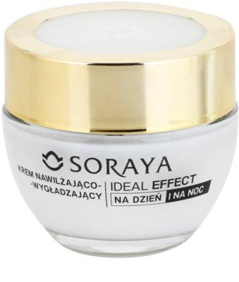 Soraya Ideal Effect crema hidratante alisadora  30+