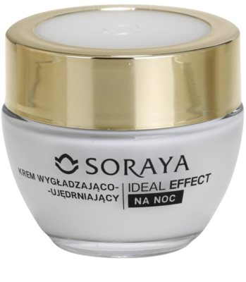 Soraya Ideal Effect crema de noche rejuvenecedora para tensar la piel