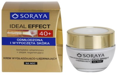Soraya Ideal Effect verjüngende Nachtcreme für straffe Haut 1