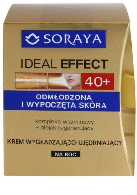 Soraya Ideal Effect crema de noche rejuvenecedora para tensar la piel 2