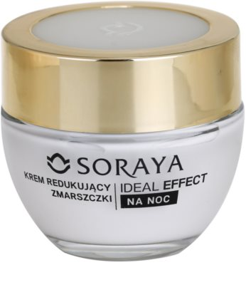 Soraya Ideal Effect crema de noapte pentru contur pentru intinerirea pielii