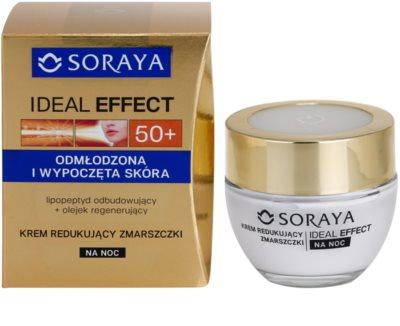 Soraya Ideal Effect нощен крем против бръчки  за подмладяване на кожата на лицето 1